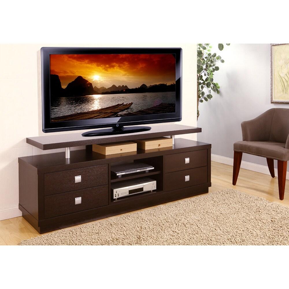 Furniture Of America Frazier Storage Entertainment Center: Furniture Of America Gellar Multi Storage TV Stand