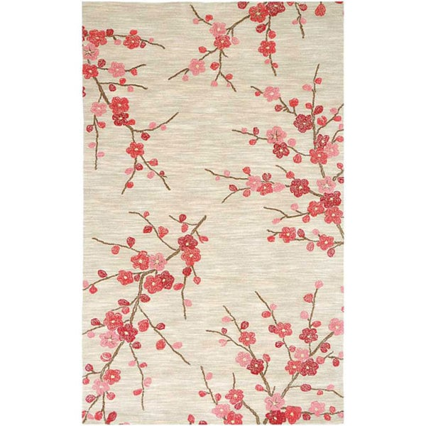 Hand Tufted Sand Red Rug 3 6 X 5 6 14321289