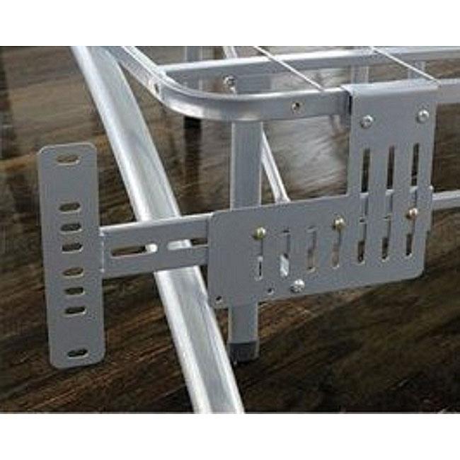 Arch Flex Brushed Silver Headboard Footboard Brackets