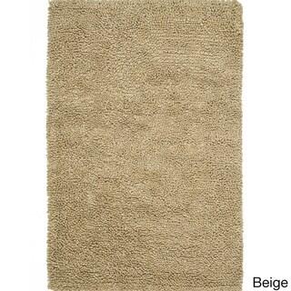Hand Woven Florence Wool Shag Rug 5 X 7 6 Overstock