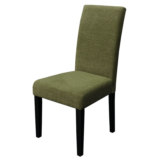Aprilia Moss Green Upholstered Dining Chairs Set Of 2