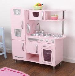 Kid Kraft Pink Vintage Kitchen Play Set 13088196 Overstock Com Shopping Big Discounts On
