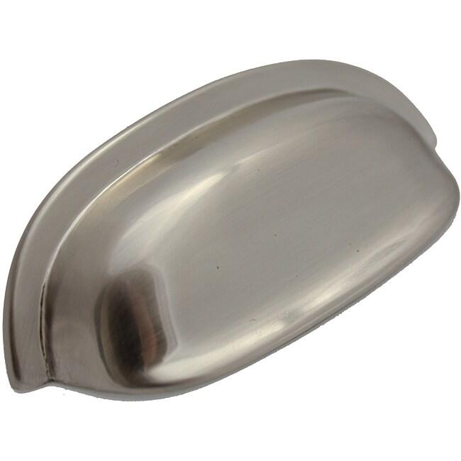 Overstock Kitchen Cabinet Pulls: GlideRite 3.5 Inch Satin Nickel Classic Cabinet Bin Pull