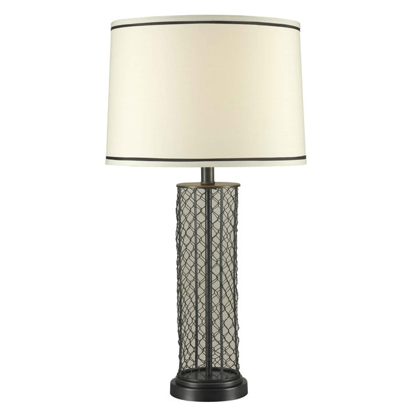 Kenroy 29 Inch Black Silver Table Lamp 14349215