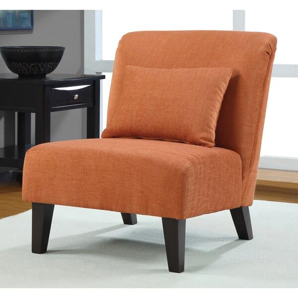 Anna Fiesta Orange Accent Chair