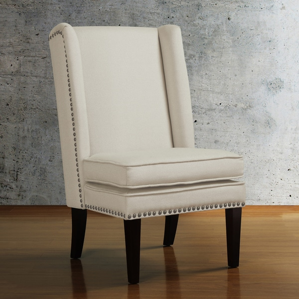 Dining Chairs Deals: Wing Natural Linen Dining Chair