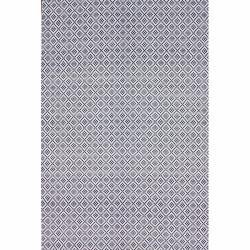 Nuloom Handmade Flatweave Diamond Cotton Rug 5 X 8