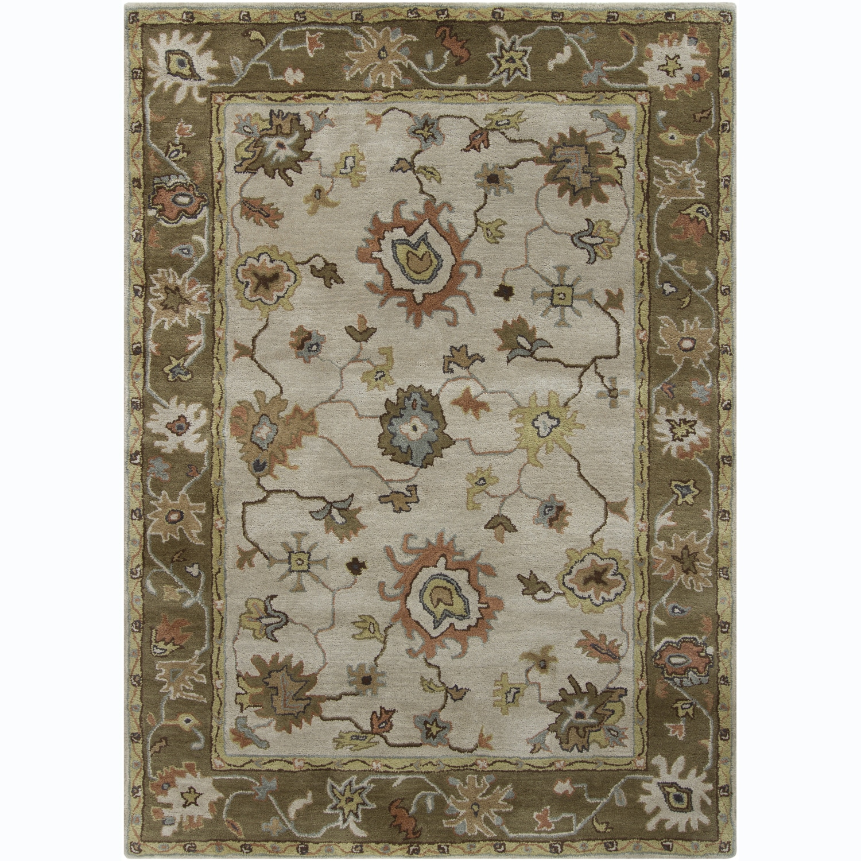 Hand-tufted Bajrang Oriental Wool Rug (7' X 10
