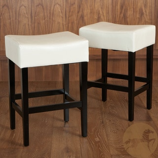 Christopher Knight Home Lopez Backless Ivory Leather