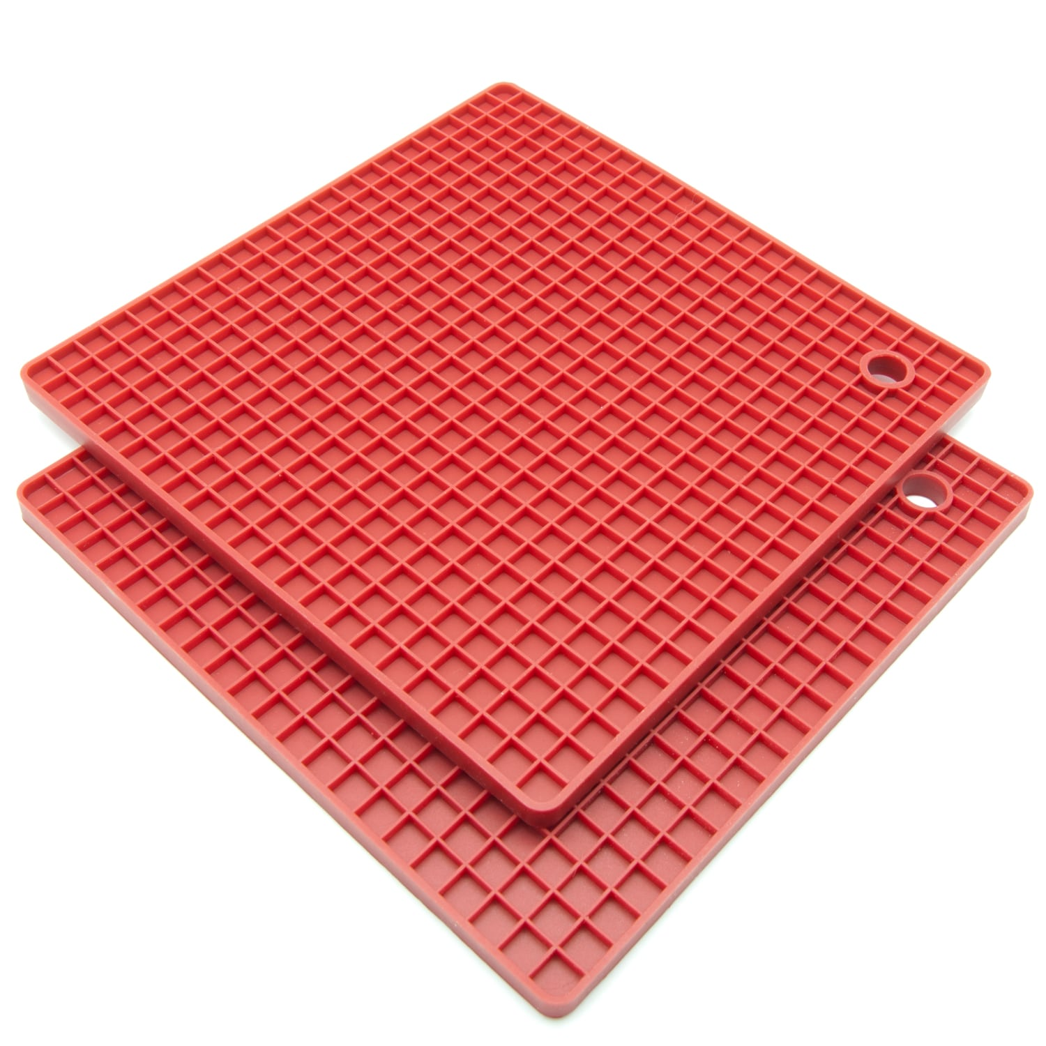 Silicone Pot Holders: Freshware Silicone Honeycomb Pot Holders/ Trivets (Set Of
