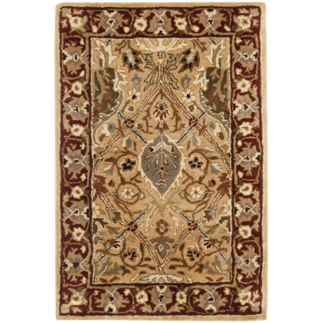 Safavieh Handmade Persian Legend Oriental Ivory/Rust Wool