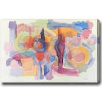 Unknown Abstract Oil Canvas Art - Multi