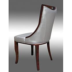 Lexington Silver Leather Dining Chairs Set Of 2