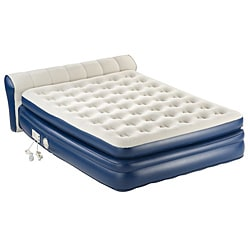 Instabed Ez Bed Never Flat Pump Queen Size Airbed