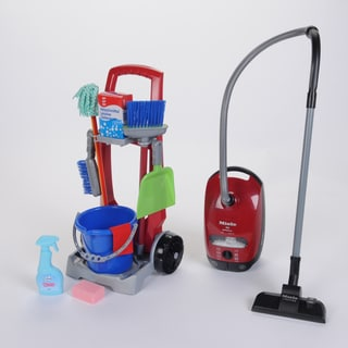 Theo Klein Cleaning Trolley Miele Vacuum Combo Housekeeping On