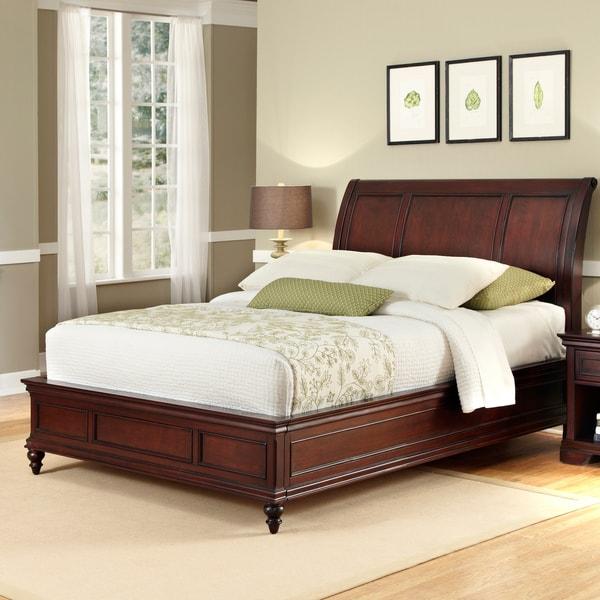 Lafayette King Sleigh Bed Overstock Shopping Great