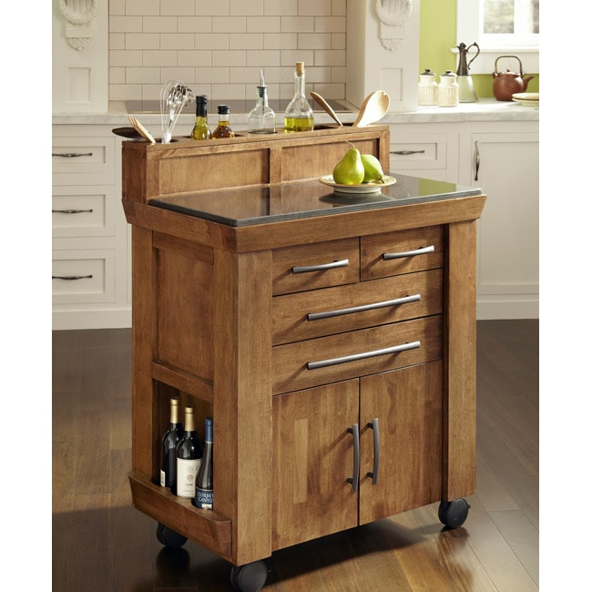 home styles the vintage gourmet kitchen cart - 14605934