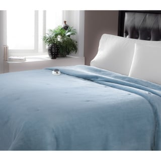 216fb04369 1Cheap Beautyrest Ribbed Microfleece Twin-size Heated Blanket ...
