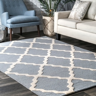 Graffiti Multi Wool Area Rug 5 3 X 7 9 14283080