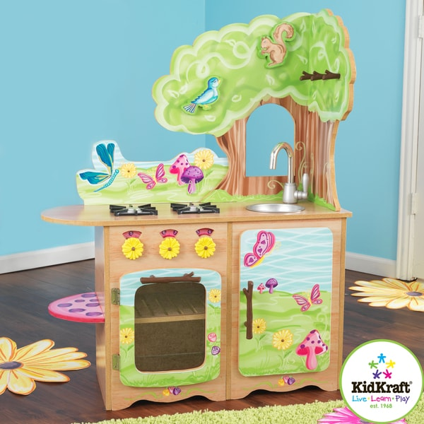 Kidkraft Fairy Woodland Kitchen 14668195 Overstock Com
