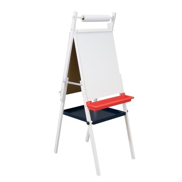 Studio Designs Kid S White Foldable Dual Sided Easel With
