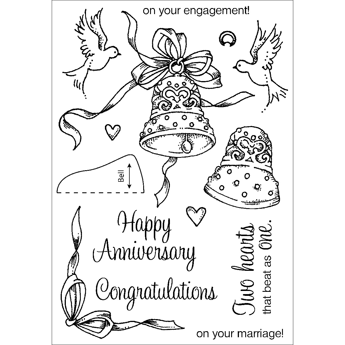 anniversary coloring pages - wedding anniversary free colouring pages