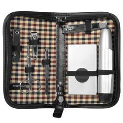 Perry Ellis Portfolio Men S Deluxe Groomer Travel Set