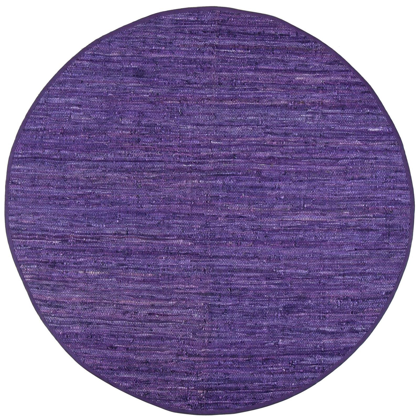 Purple Circle Rugs: Purple Round, Oval, & Square Area Rugs