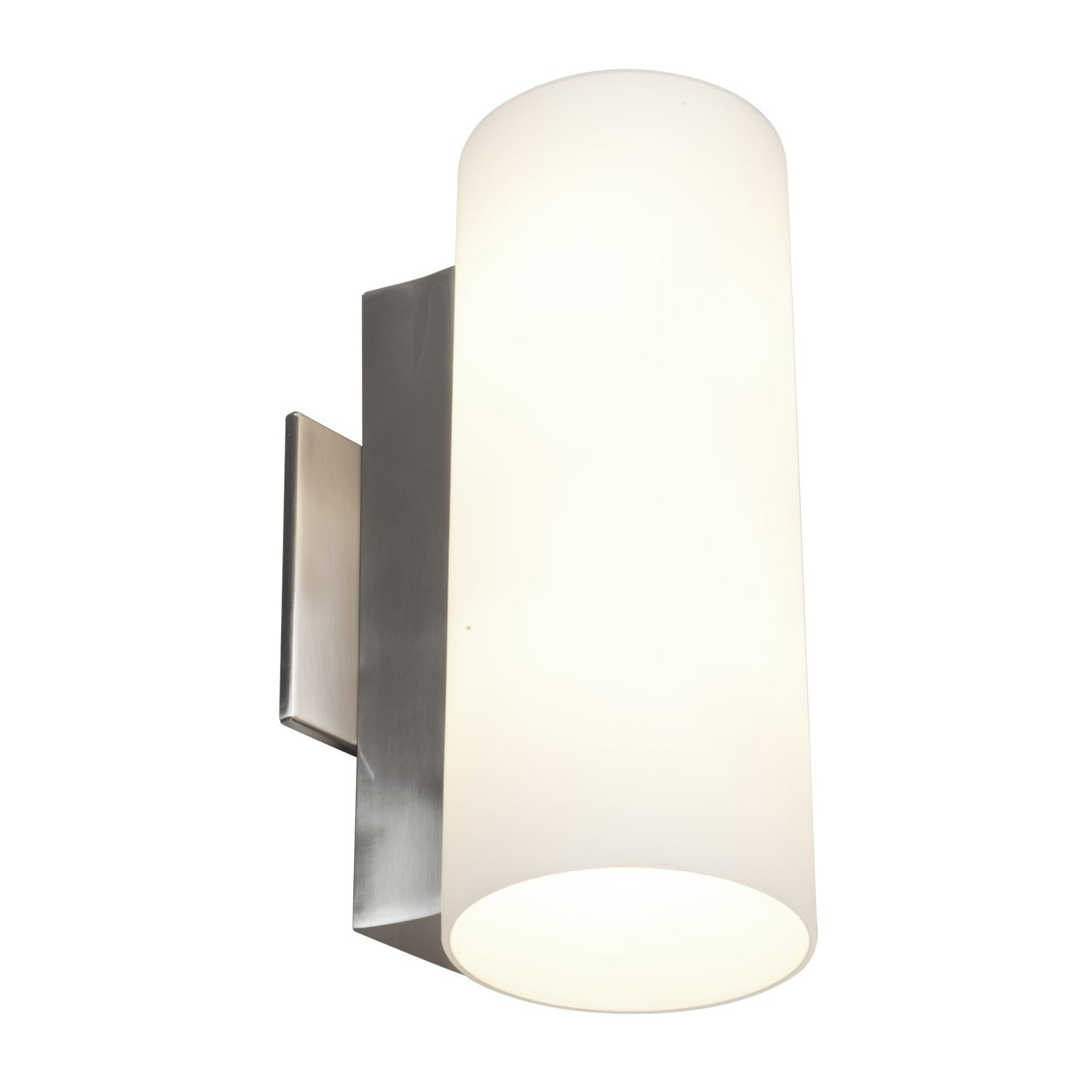 Access Taboo 2 Light Brushed Steel 11 8 Inch Wall Sconce
