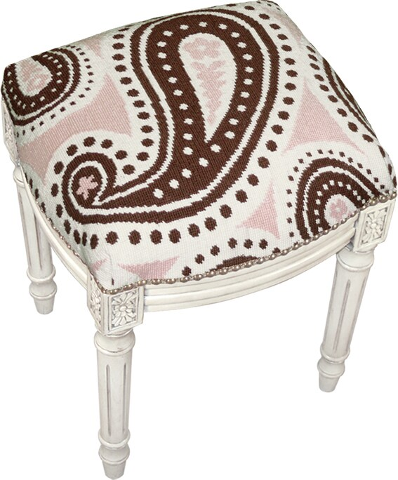 Perla Vanity Chair Overstock Shopping Great Deals On