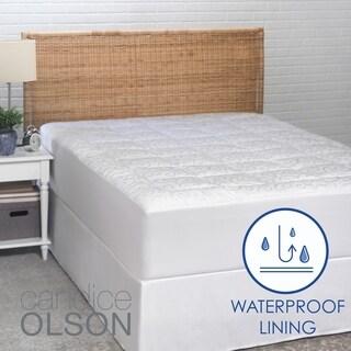 Premier Comfort 300 Thread Count Waterproof Mattress Pad 13476503 Overstock Com