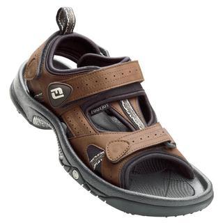 Footjoy Men S Greenjoys Golf Sandals Overstock Shopping