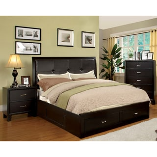 Sale !!!Furniture of America Ella 3  piece Queen size Bed with