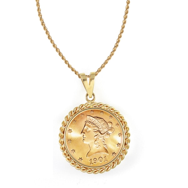 American Coin Treasures 14k Gold $10 Liberty Gold Piece