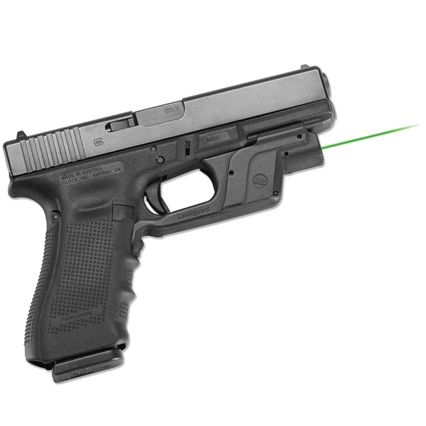 Crimson Trace Green Laserguard for Glock Full Size and