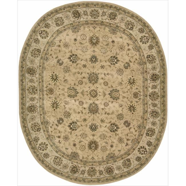 Hand Tufted Contemporary Multi Colored Circles Mayflower