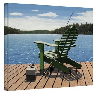 Cedar Fish Shaped Adirondack Chair With Ottoman 11781349
