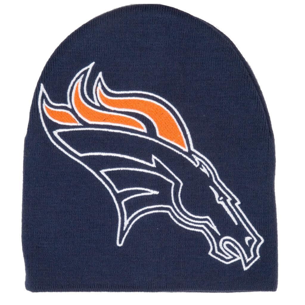 Denver Broncos Big Logo Stocking Hat