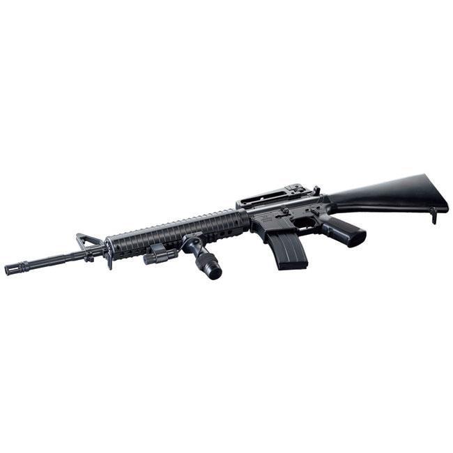 Spring Action M16A3 Assault Rifle Full Stock Airsoft Gun ... M16a3 Assault Rifle