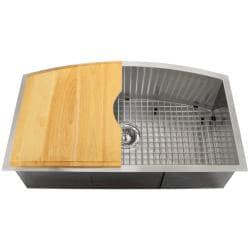 Ticor Royal Stainless Steel  Gauge Undermount Kitchen Sink