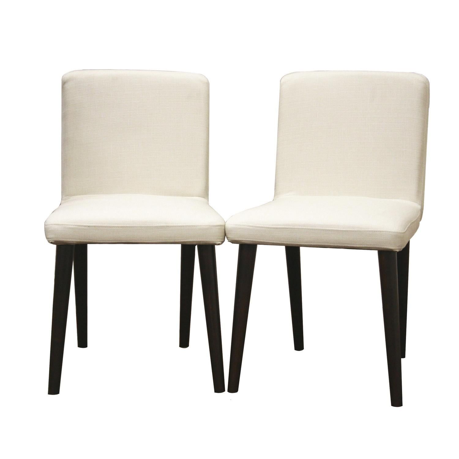 Dining Chairs Deals: Yulene Cream Modern Dining Chairs (Set Of 2)