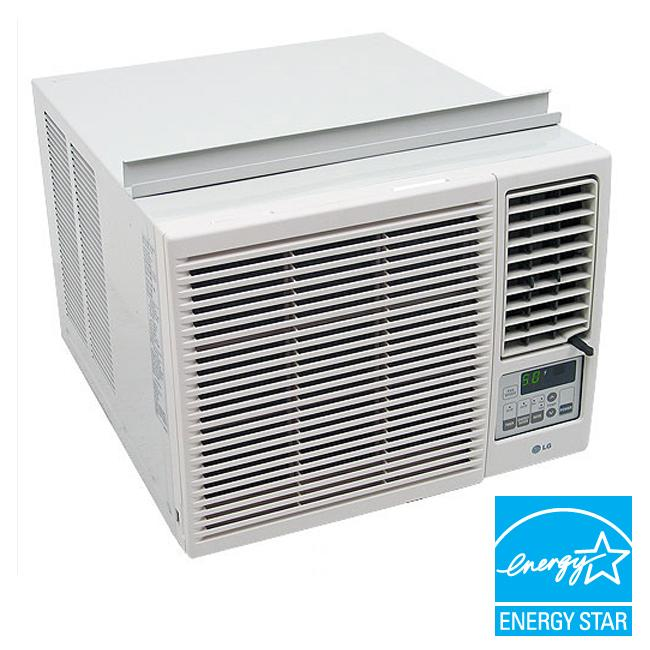 lg 7 000 btu heat and cool window air conditioner refurbished 13393035. Black Bedroom Furniture Sets. Home Design Ideas