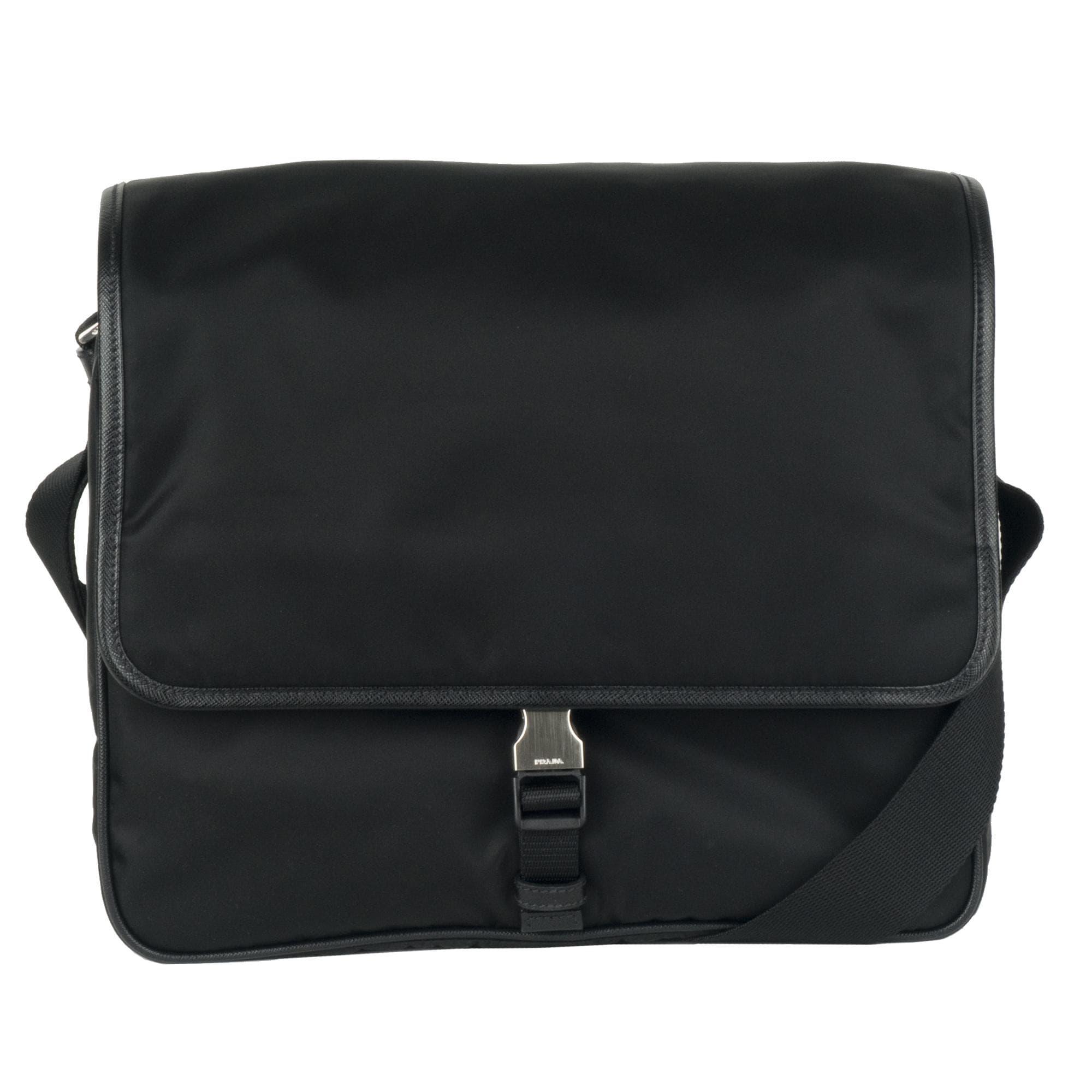 221706b18586 ... wholesale prada v166 nylon messenger bag 13443427 overstock shopping .  baa8e 1c512