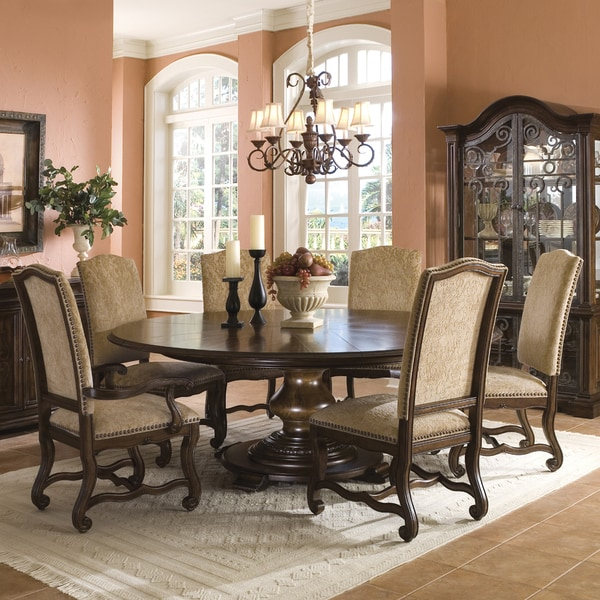 Round Table Sets: Coronado 7-piece Round Table Dining Set