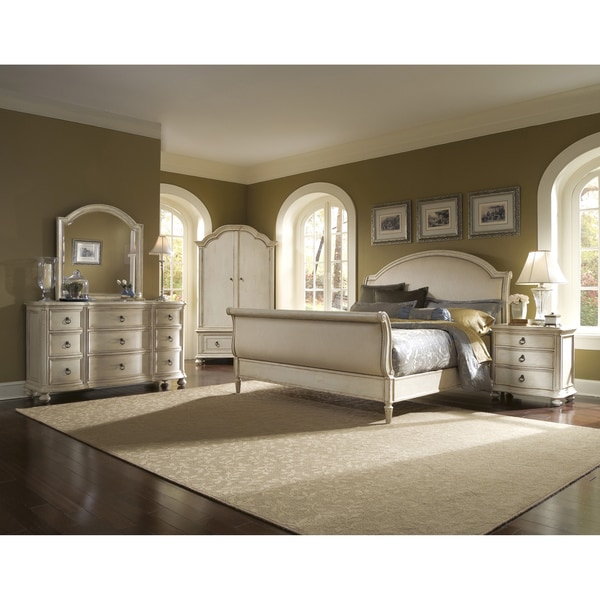 Provenance Upholstered Sleigh 5-piece King-size Bedroom