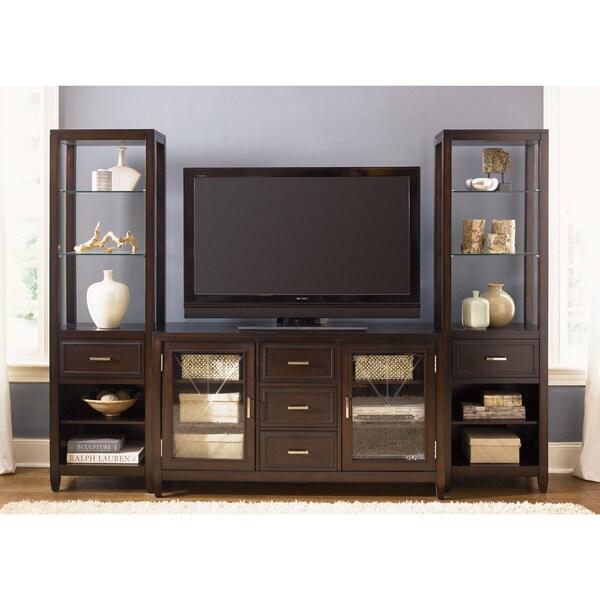 liberty caroline 60 inch tv stand and 2 pier entertainment set 14790344. Black Bedroom Furniture Sets. Home Design Ideas
