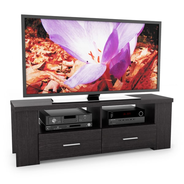 Sonax Furniture: Sonax Bromley Wood Ravenwood Black 60-inch Entertainment