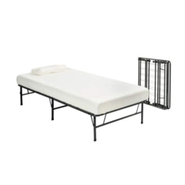 Pragma Fold Bed Frame Twin Xl Size With 6 Inch Memory Foam
