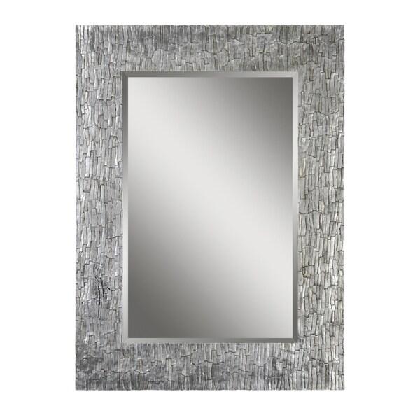 Ren Wil Santa Fe Silver Rectangular Mirror 14803362