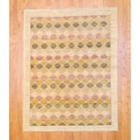 """Herat Oriental Afghan Hand-knotted Vegetable Dye Wool Rug (5' x 6'4) - 5' x 6'4"""""""